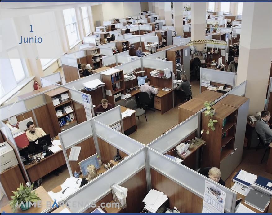 """En una oficina es más fácil parecer """"ocupado"""""""